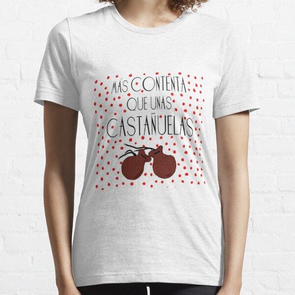 Camiseta Castañuelas de flamenco Camiseta esencial