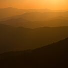 Sunset on the Smokies by dlhedberg