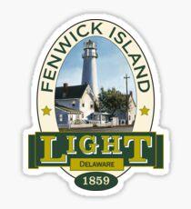 Fenwick Island Lighthouse Sticker