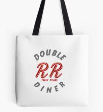 Double R Diner Twin Peaks (logo) Tote Bag