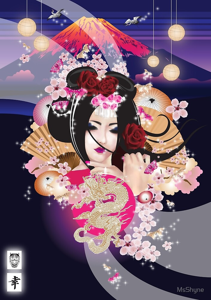 Japan by MsShyne