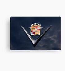 Cadillac Crest Canvas Print
