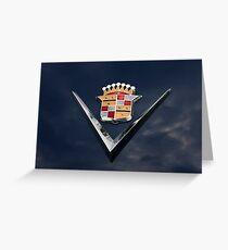 Cadillac Crest Greeting Card