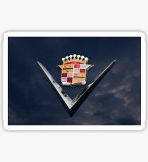 Cadillac Crest Sticker