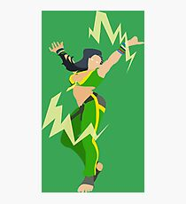 Street Fighter V- Laura Photographic Print