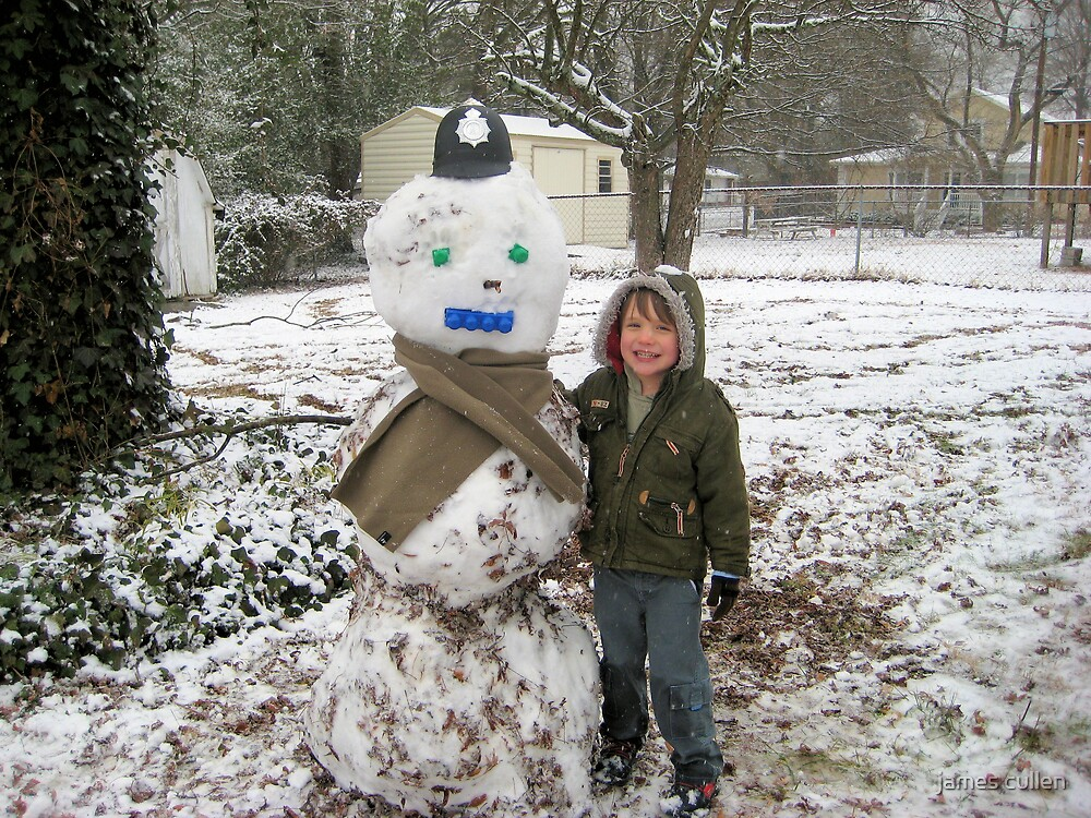 ME AND MY SNOWMAN by james cullen