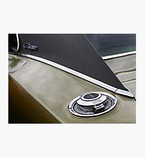 Fuel Cap Photographic Print