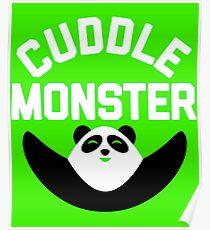 Póster Cuddle Monster