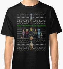 Rick and Morty Family Portrait Classic T-Shirt