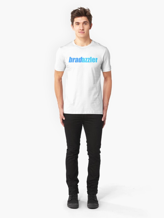 Alternate view of Bradazzler Logo Slim Fit T-Shirt