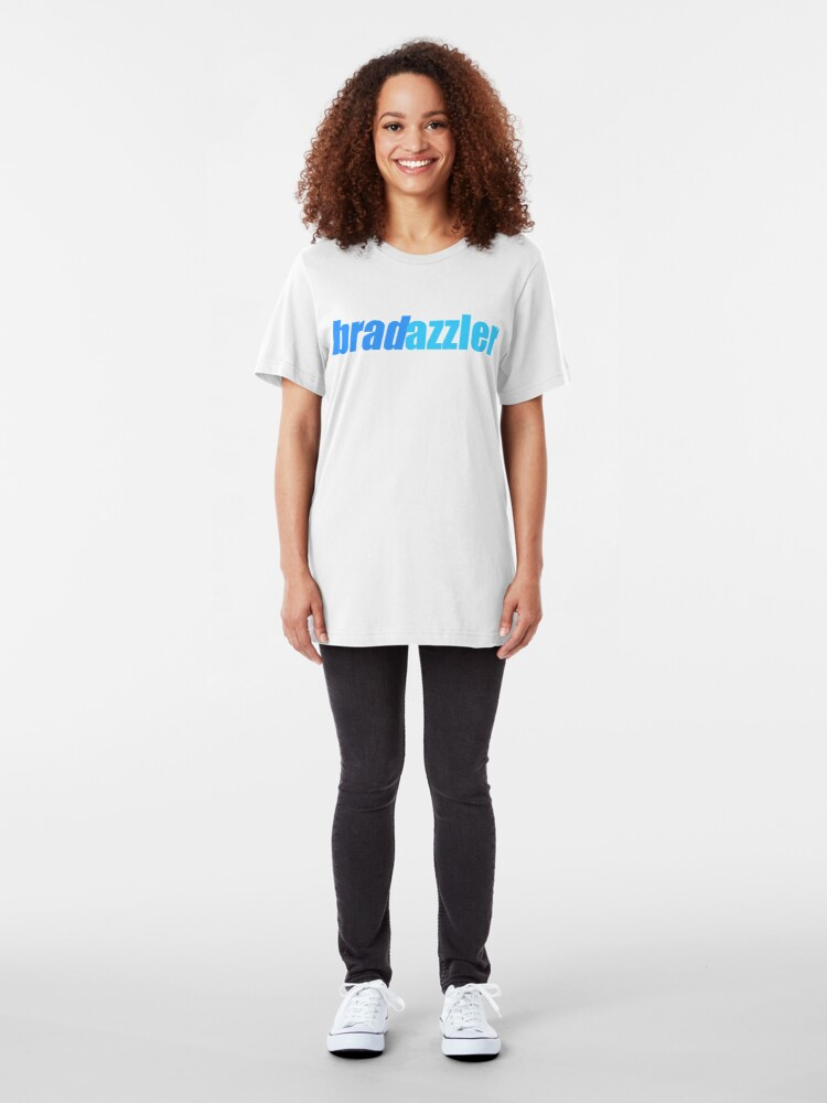 Alternate view of Bradazzler Logo Slim Fit T-Shirt