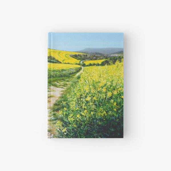 Springtime Yellow Hardcover Journal