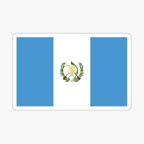 Flag of Guatemala Sticker