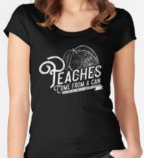 Peaches... Women's Fitted Scoop T-Shirt