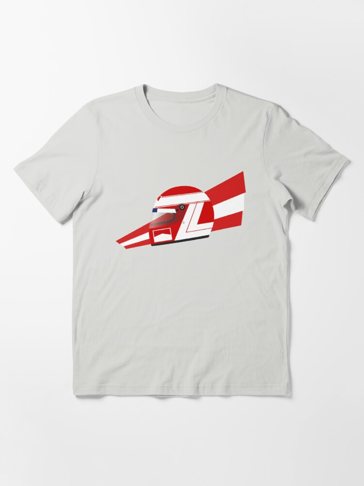 Alternate view of 80s Austrian Racing Driver Helmet Essential T-Shirt