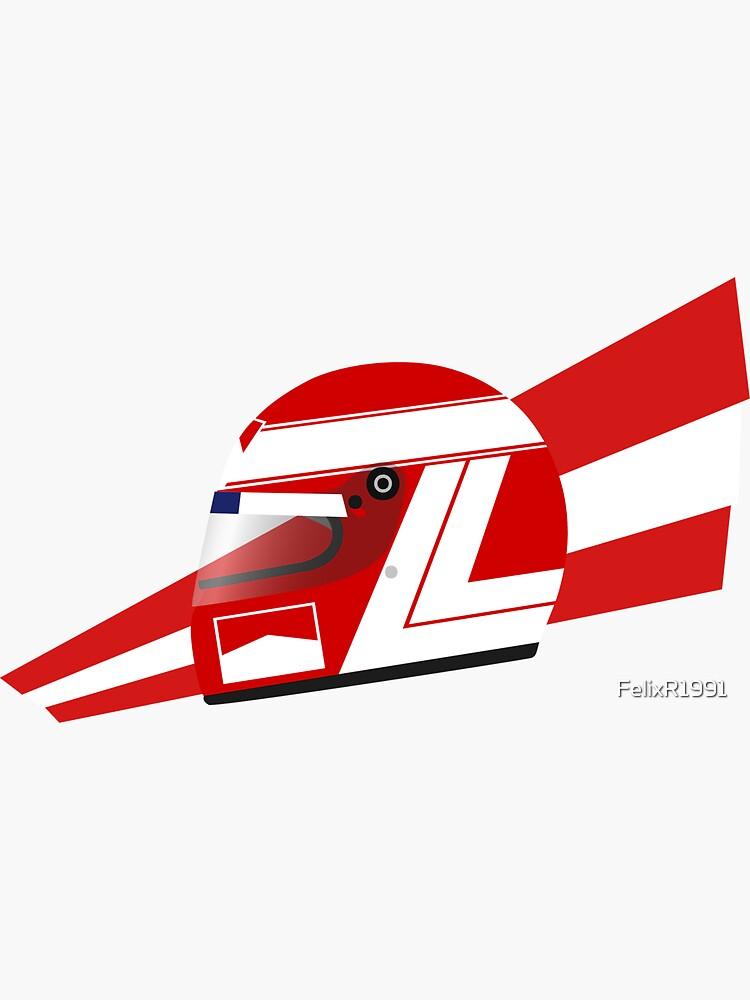 80s Austrian Racing Driver Helmet by FelixR1991