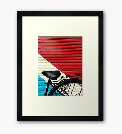 BikeLife Japan Framed Print