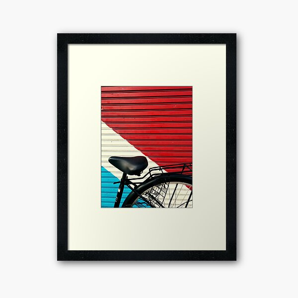 BikeLife Japan Framed Art Print