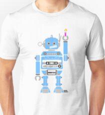 80's Mix Tape Robot - Sam Unisex T-Shirt