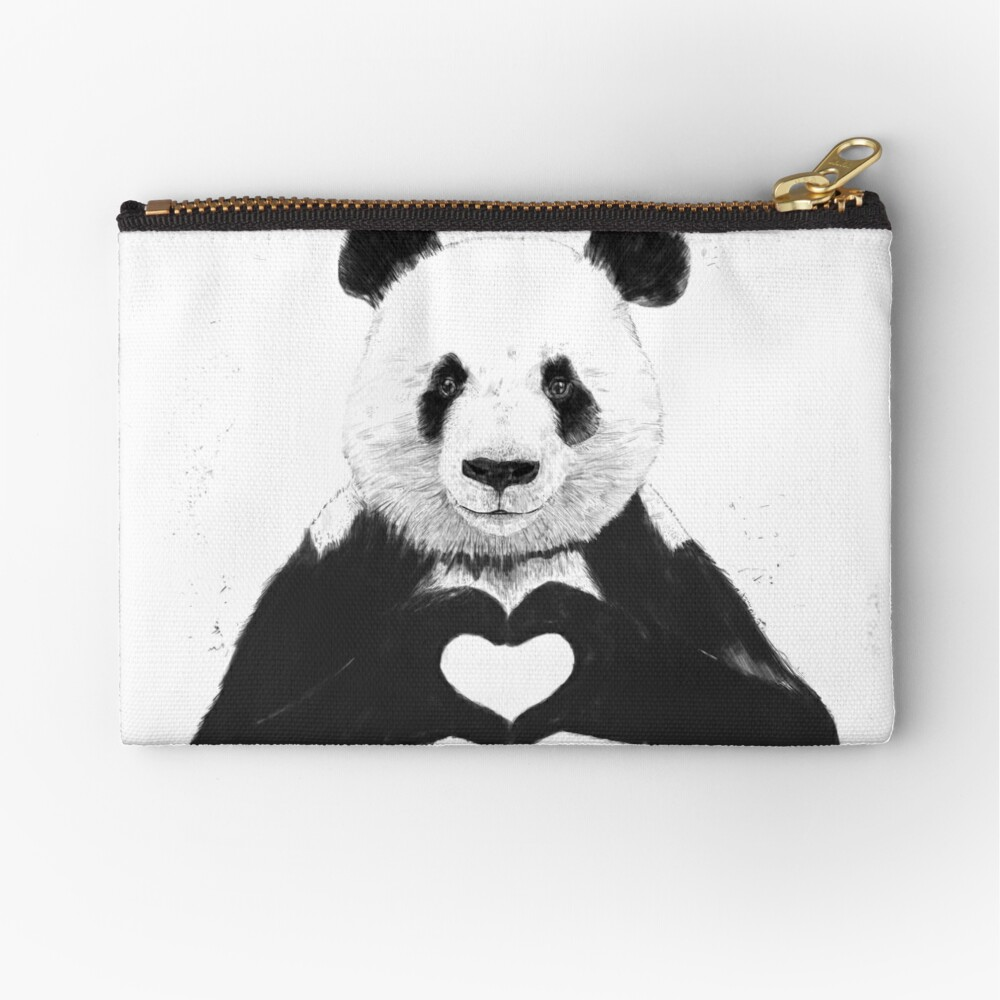 All you need is love Zipper Pouch