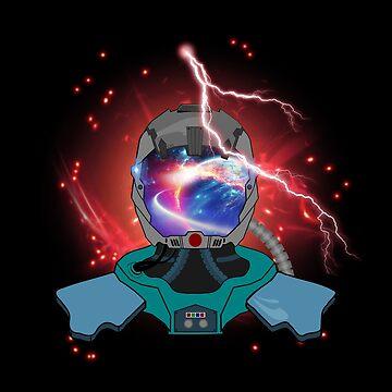 SPACE GEEK  by chaoskandy