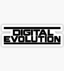 Digital Evolution Merch Sticker