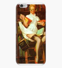 Gil Elvgren Pin Up Librarian iPhone Case