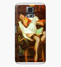 Gil Elvgren Pin Up Librarian Case/Skin for Samsung Galaxy