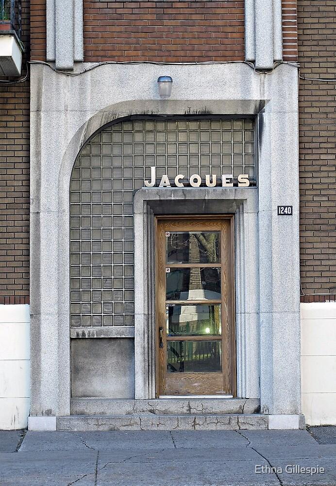 Art Deco Doorway by Ethna Gillespie