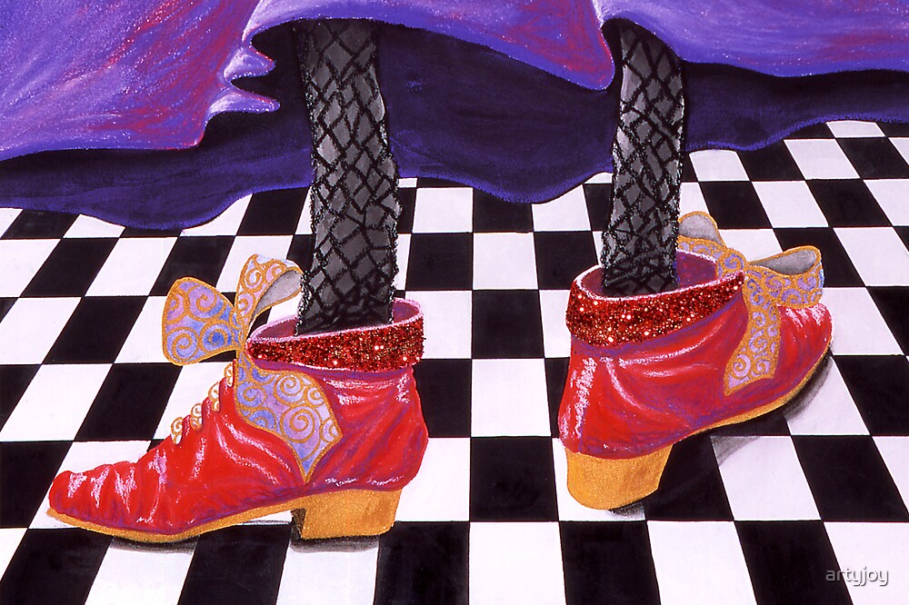 Witches Shoes by artyjoy