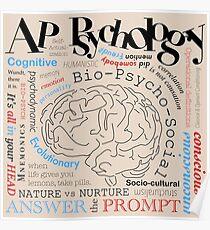 AP Psychologie - Die ganze Enchilada Poster
