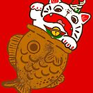 Taiyaki Neko by fluffymafi