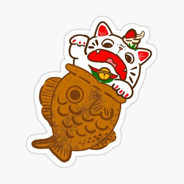 Taiyaki Neko Sticker