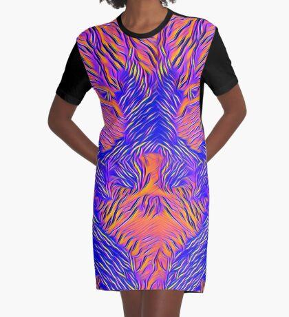 Catishhhhhhh bat Graphic T-Shirt Dress