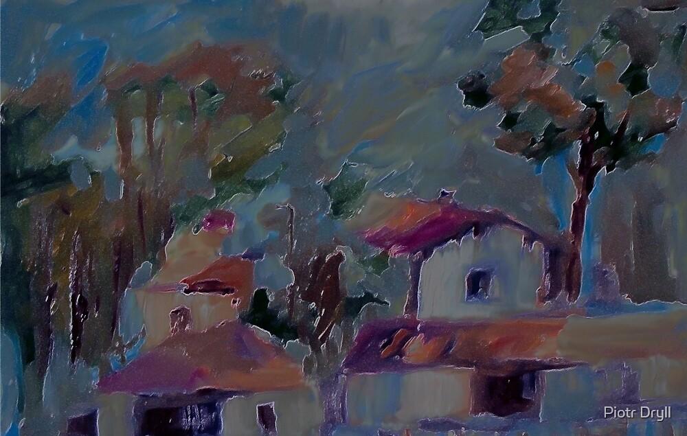 pejzaż by Piotr Dryll