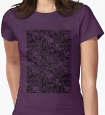 pokeglitch Womens Fitted T-Shirt