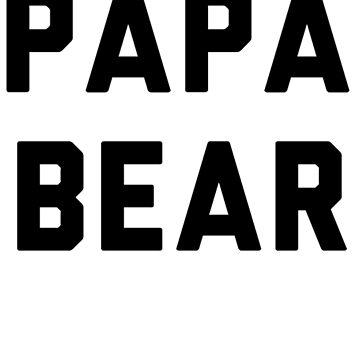 PAPA BEAR by firashmae