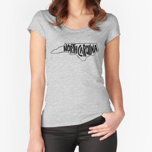 North Carolina Fitted Scoop T-Shirt