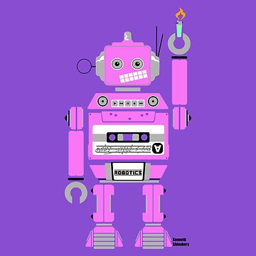 80's Mix Tape Robot - Clementine by kshinabery212