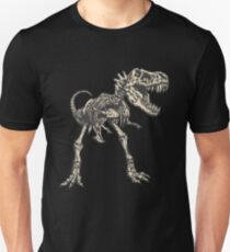 T-rex Skeleton Shirt - Cool Awesome Dinosaur Tee for All Unisex T-Shirt