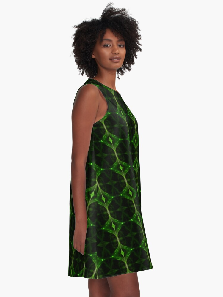 Alternate view of Emerald Tip A-Line Dress