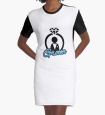 Groom Graphic T-Shirt Dress