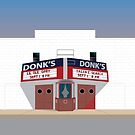 Donk's Theater by canossagraphics