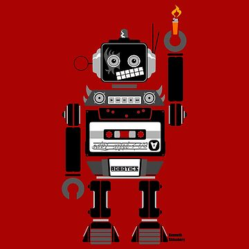 80's Mix Tape Robot - Gene by kshinabery212