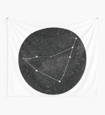 Capricorn Constellation Wall Tapestry