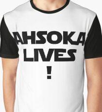 Ahsoka Lives! Graphic T-Shirt