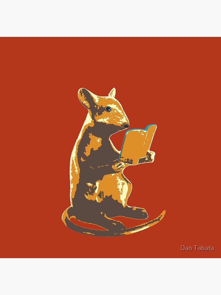 Book Mouse - gold by dmtab