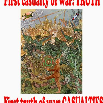 War and Truth by QuoteKing
