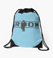 Groom Drawstring Bag