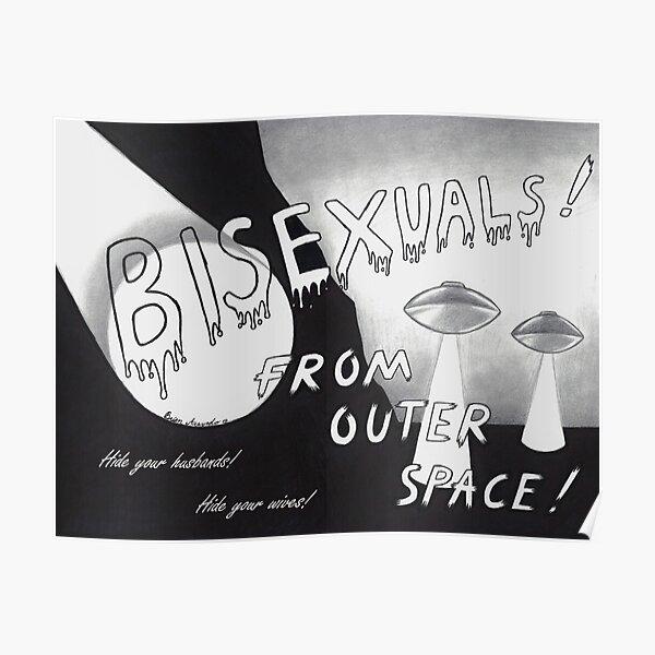 Aus dem Weltraum! Poster
